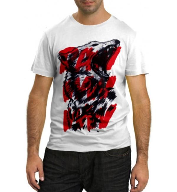 Модная футболка RAWWWW