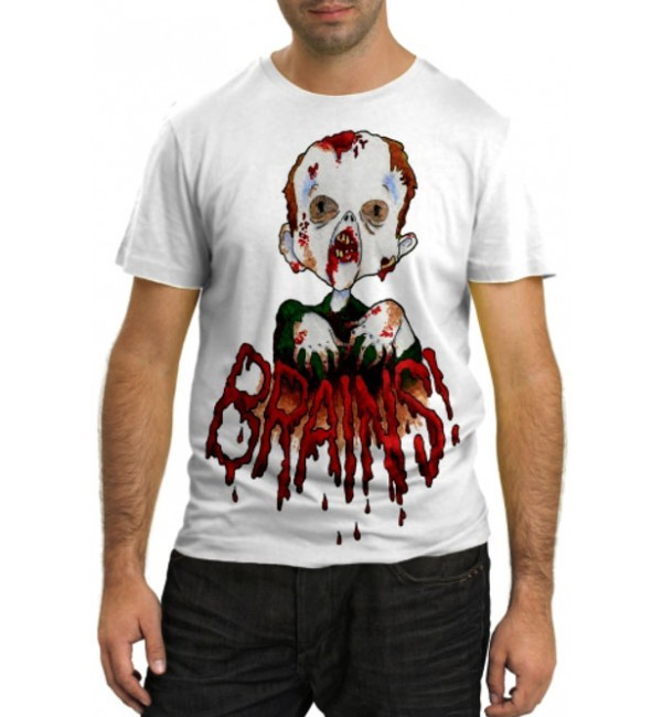 Модная футболка Brains