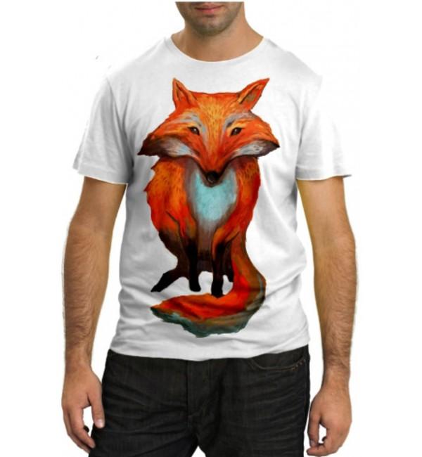 Модная футболка Лисица