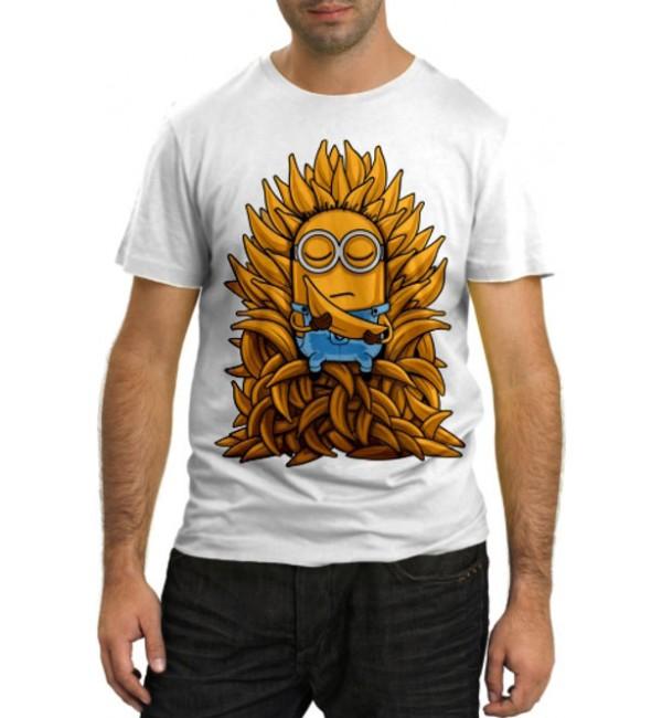 Модная футболка Миньйон банан