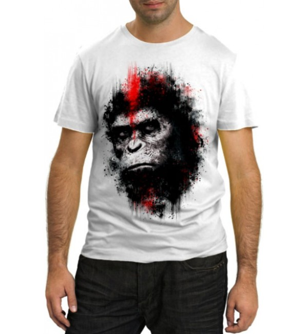 Модная футболка Шимпанзе
