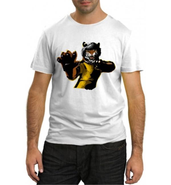 Модная футболка Тигрица Кунг-Фу