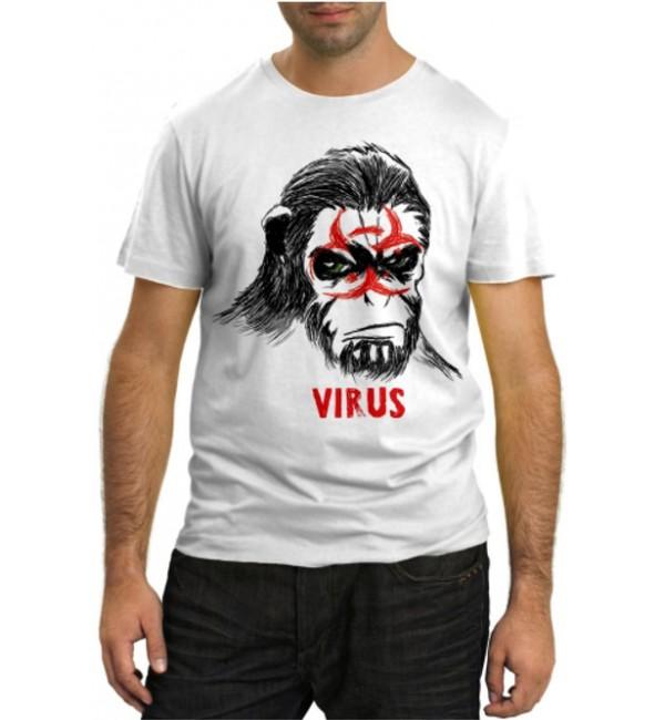 Модная футболка Virus