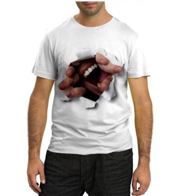Модная футболка Я здесь!