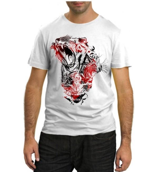 Модная футболка Тигры
