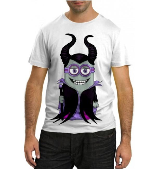Модная футболка Миньйон Малифисента