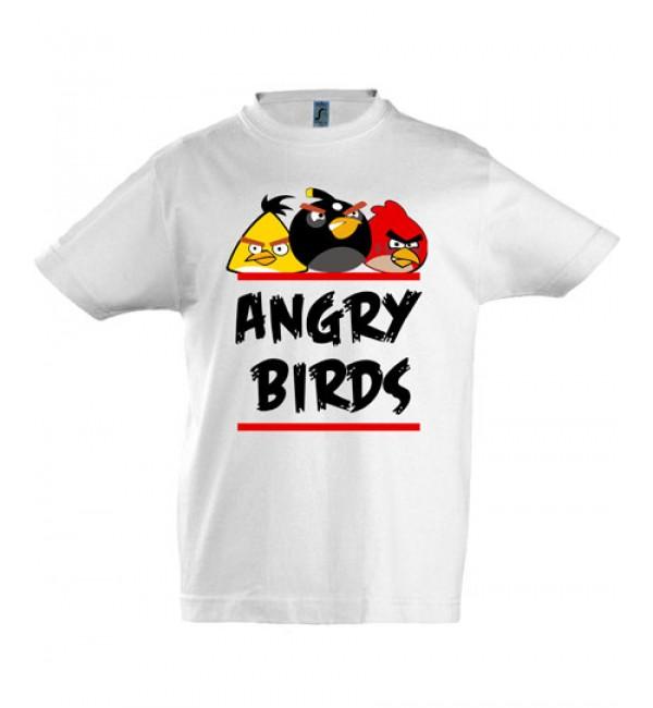 Футболка для мальчика Angry Birds