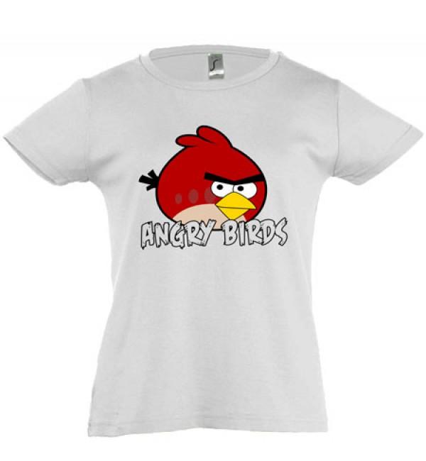 Футболка для девочки Angry Birds 3