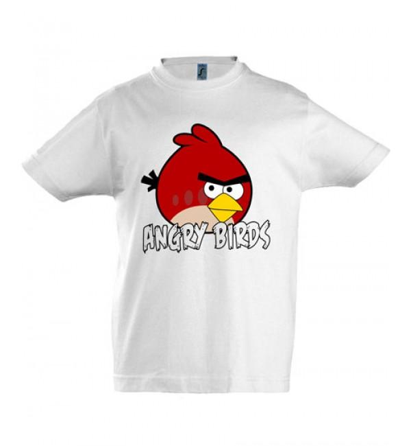 Футболка для мальчика  Angry Birds 3