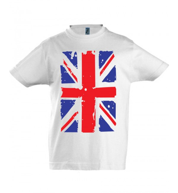 Футболка для мальчика  Английский флаг