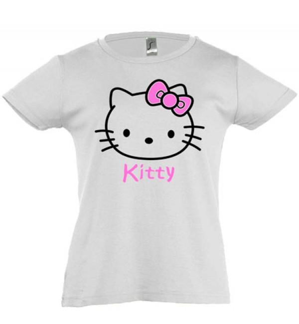 Футболка для девочки  Kitty 3