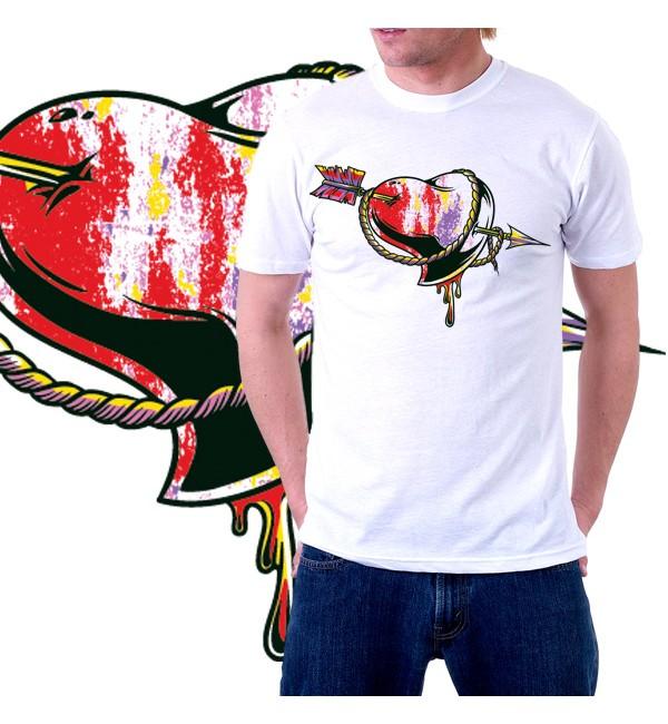 Мужская футболка с  дизайном 604