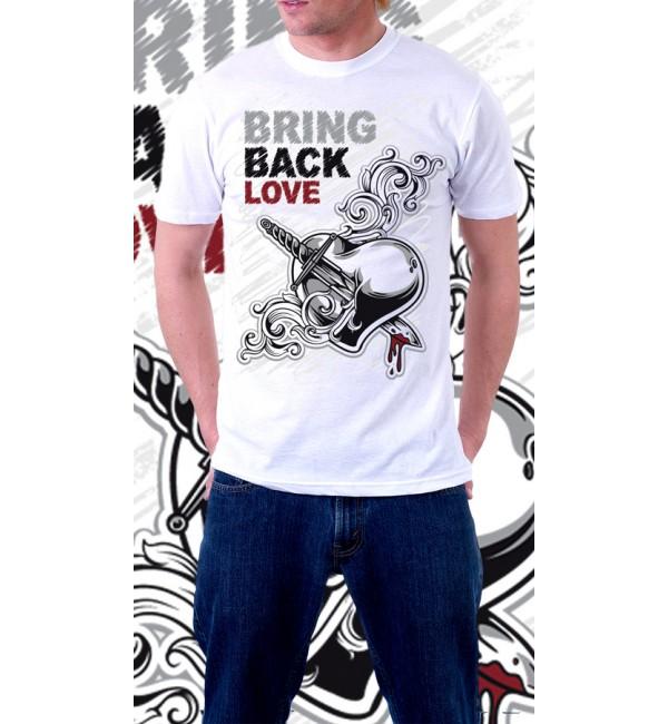 Мужская футболка Bring back love