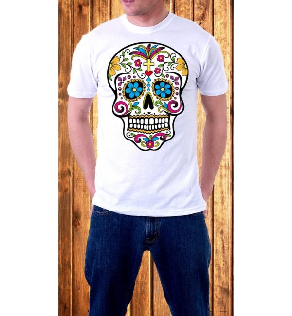Мужская футболка Череп 1