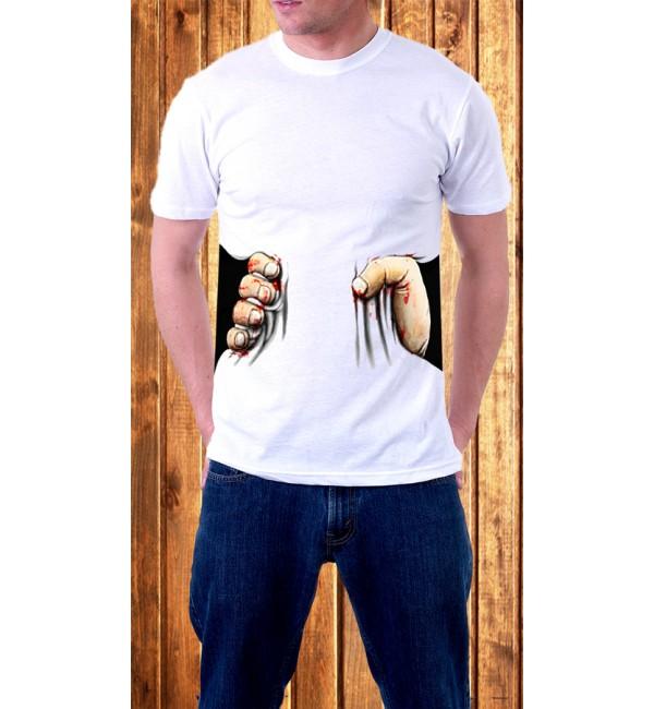 Мужская футболка Рука