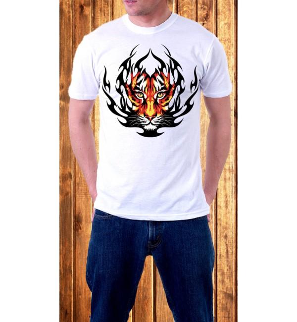 Мужская футболка Тигр 2