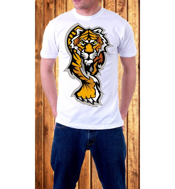 Футболка мужская Тигр 3