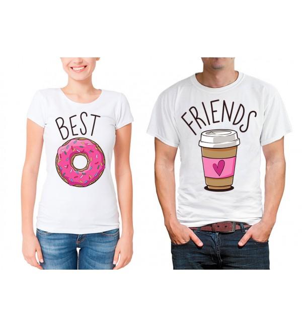 Парные футболки для двоих Best Friends