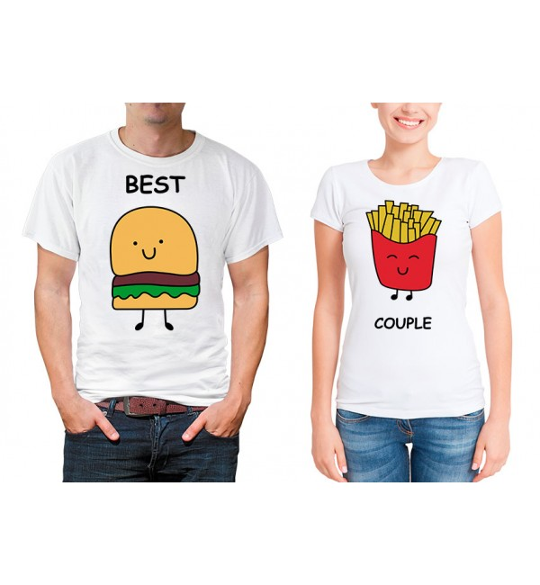 Парные футболки для двоих Best couple
