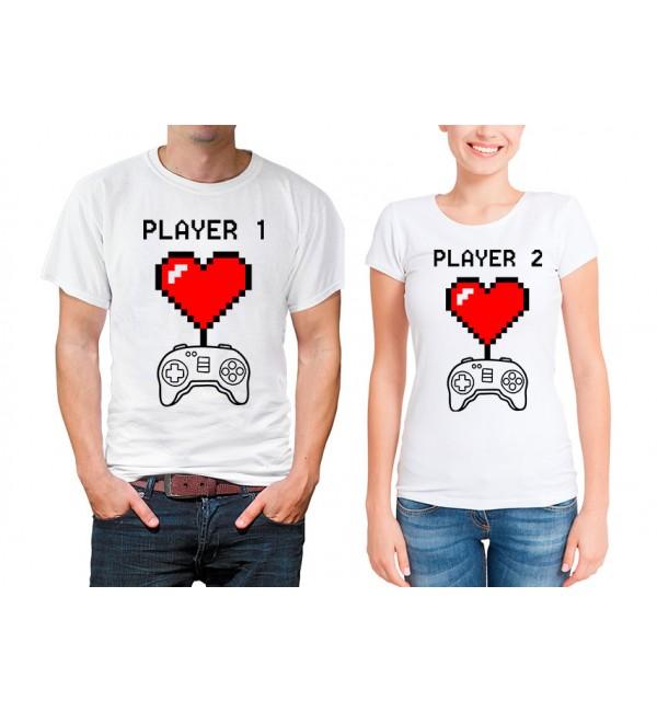Парные футболки Игроки