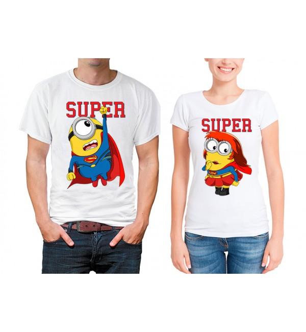 Парные футболки Супер миньйоны