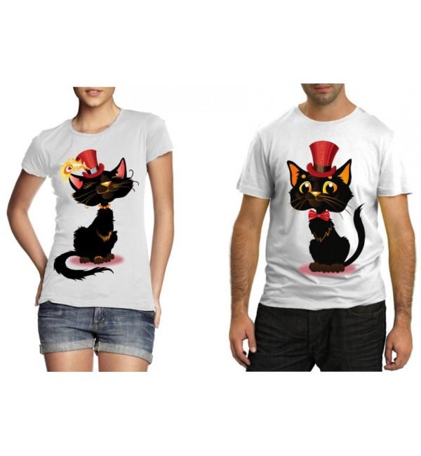 Парные футболки Коты аристократы