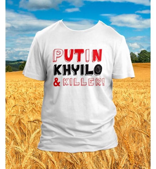 Футболка PUTIN KHUYLO & Killer