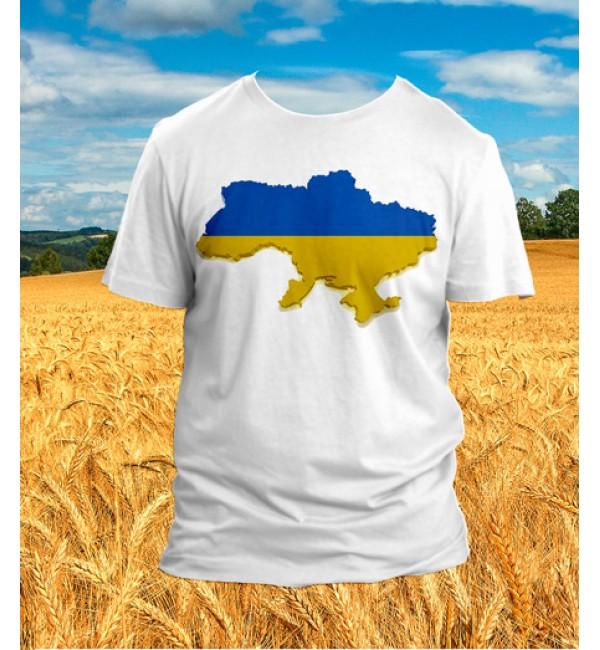 Футболка патриотическая Флаг Украины