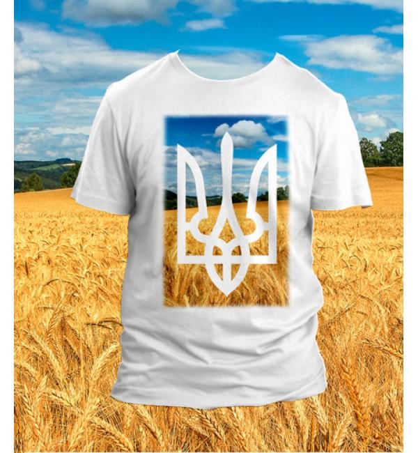 Патриотическая футболка Трезуб 2