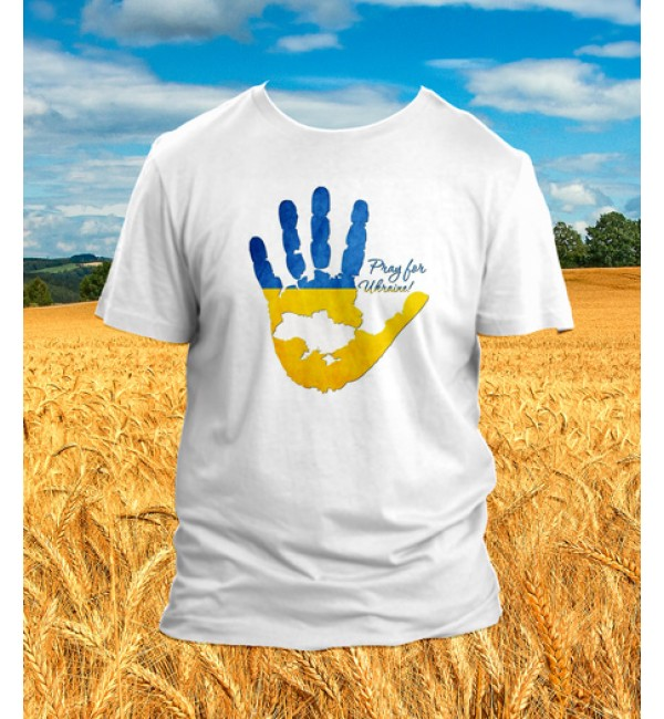 Патриотическая футболка Ладонь