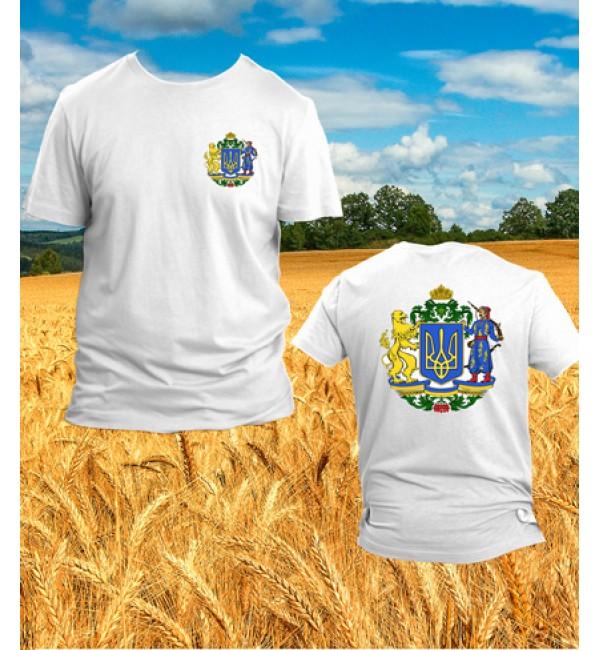 Патриотическая футболка Герб Украины