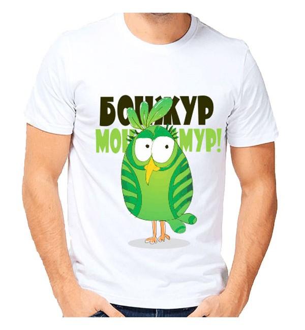 Мужская футболка Бонжур