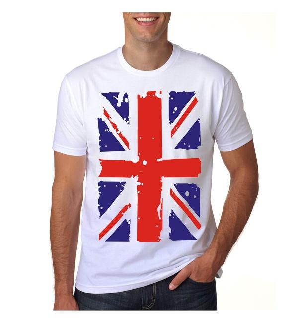 Футболка мужская  Английский флаг