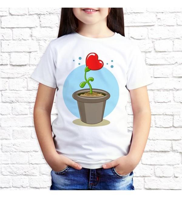 Детская футболка Выращен с любовью