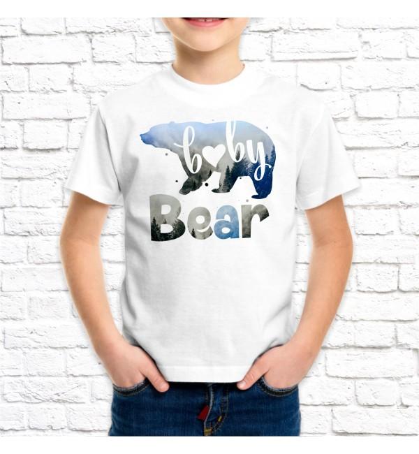 Детская футболка Сын медведь