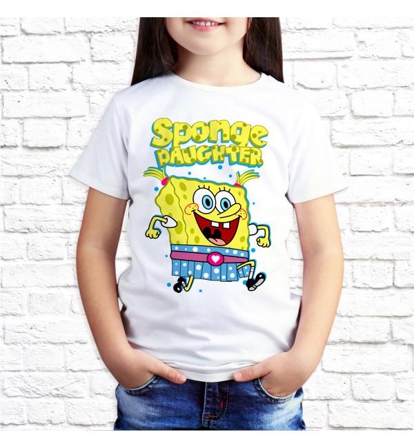 Детская футболка Sponge Daughter