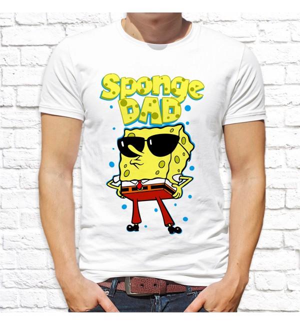 Мужская футболка Sponge Dad