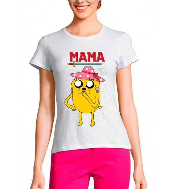 Женская футболка Жена Джейка
