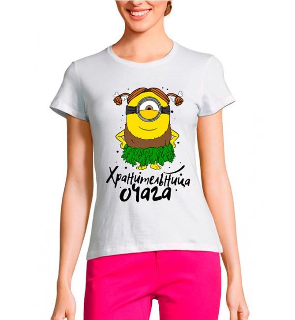 Женская футболка Жена добытчика