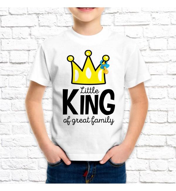 Детская футболка Сын Little King