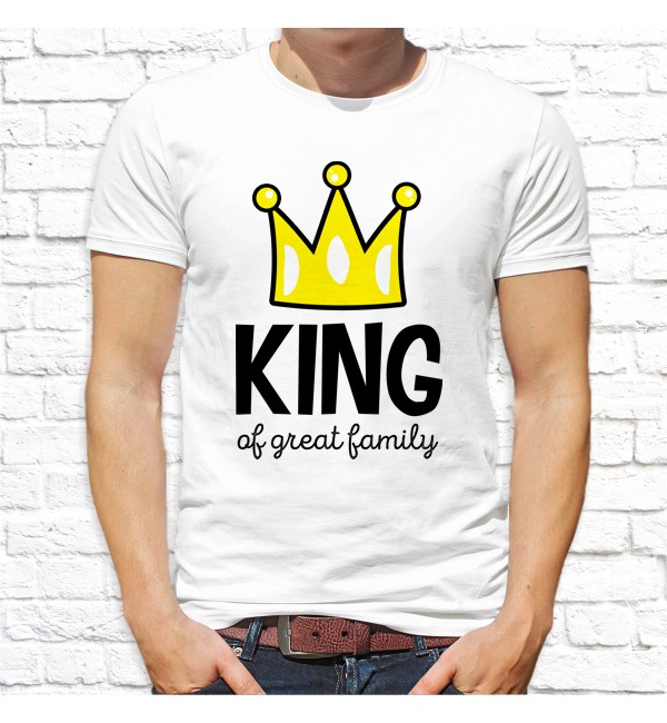 Мужская футболка Папа King