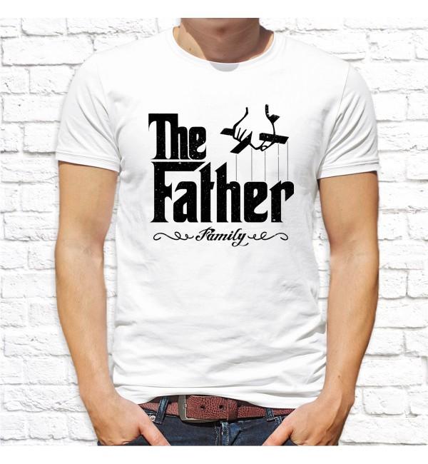 Мужская футболка Папа гангстер