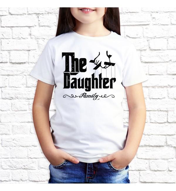 Детская футболка Дочь гангстера
