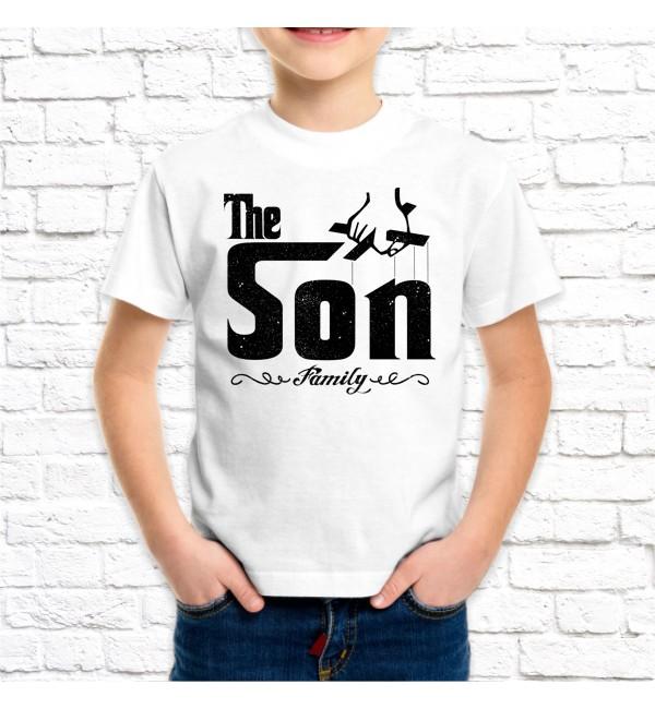 Детская футболка Сын гангстера