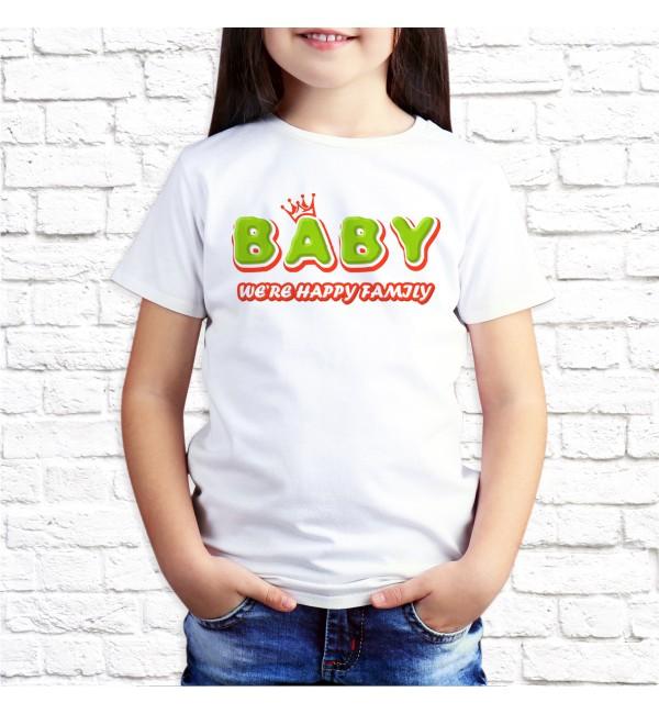 Детская футболка Счастливая семья