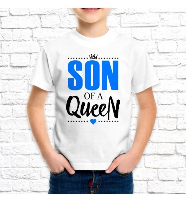 Детская футболка Сын королевы