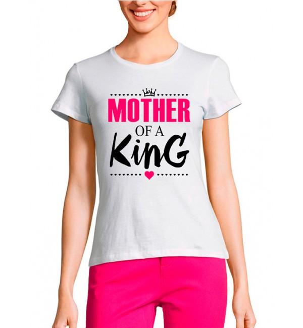 Женская футболка Мама короля