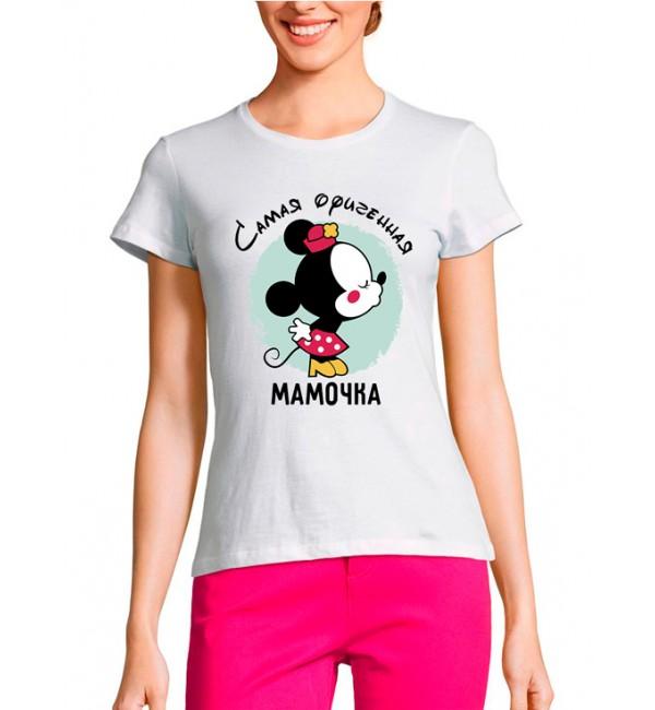 Женская футболка Самая офигенная мамочка