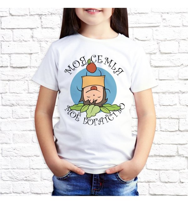 Детская футболка Моя семья