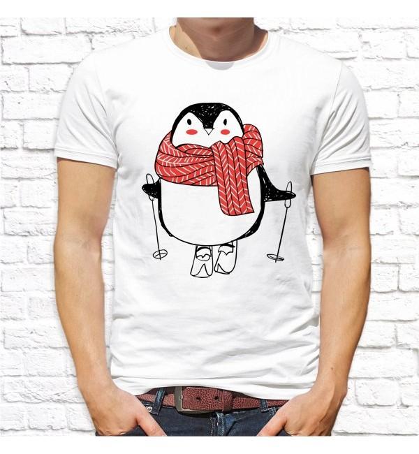 Мужская футболка Пингвин папа